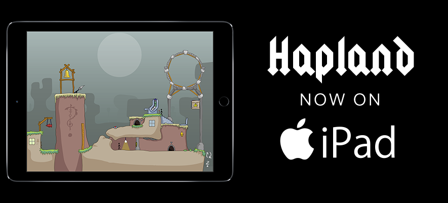 Hapland: Now on iPad